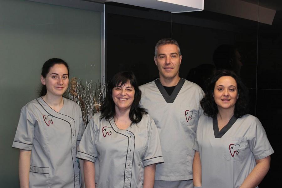 Personal clínica dental Perlío